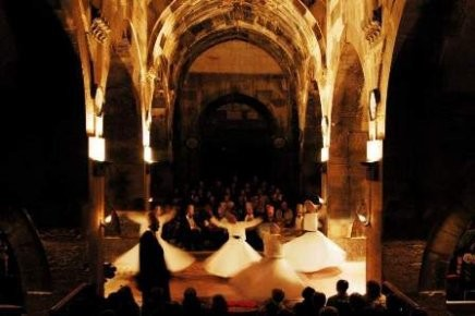 Whirling Dervish show in Cappadocia