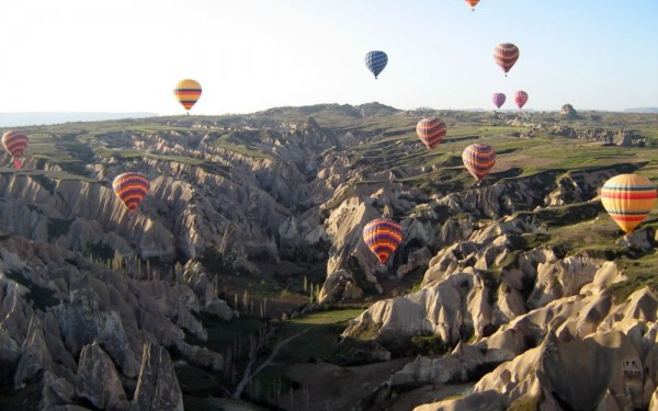 Balloon flight in Cappadocia